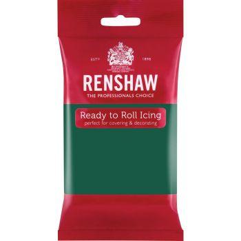 Pâte à sucre Verte émeraude 250gr Renshaw Pro