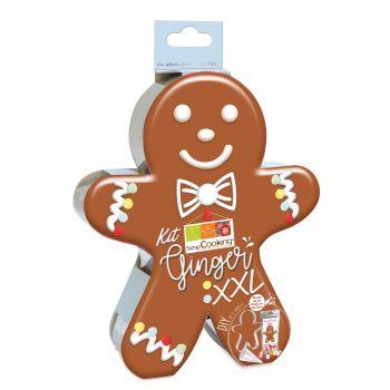 Kit Biscuit Gingerman XXL Scrapcooking