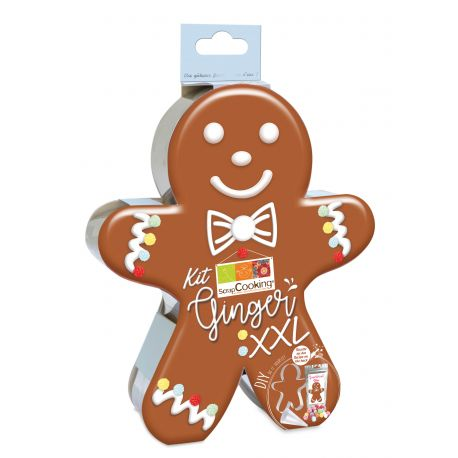 Kit tout en un pour réaliser un ginger gourmand lors des fêtes de fin d'année !Devenez pro en DIY (