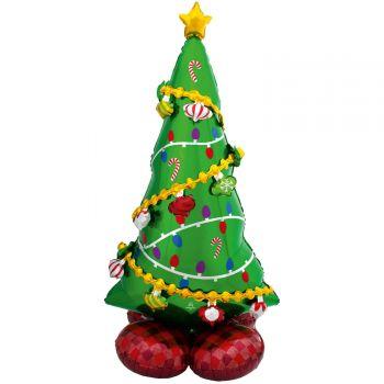 Ballon géant à poser Airloonz Sapin de Noël