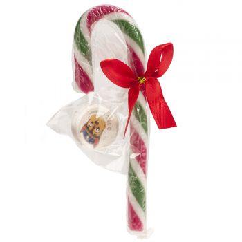 Candy cane Pat patrouille avec cadeau