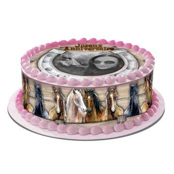 Kit Easycake pour gâteau personnalisé Passion cheval
