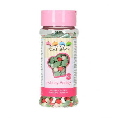 Les confettis en sucre sont une façon simple de donner un look joyeux à vos douceurs en un tour de main !Ce mix signé FunCakes est...