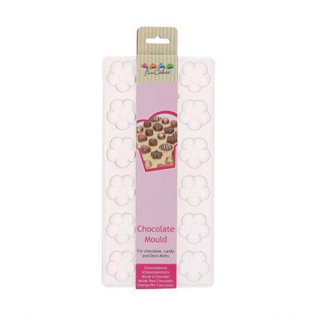 Créez de jolis chocolats finement détaillés grâce au moule en forme de fleurs de FunCakes.Ce moule à...