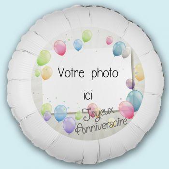 Ballon personnalisé décor Ballons pastels
