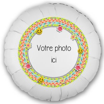 Ballon personnalisé décor Scoubidou