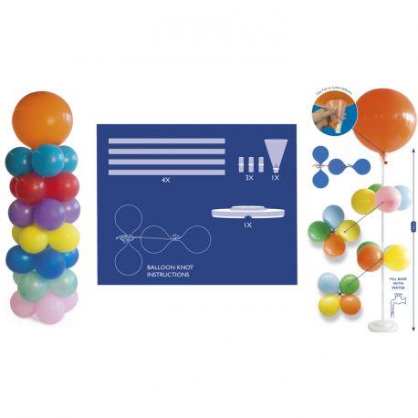 Piler pour réaliser une superbe composition de ballons pour vos évènements120cm une fois assemblé