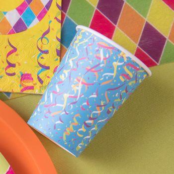 10 Gobelets carton Carnaval