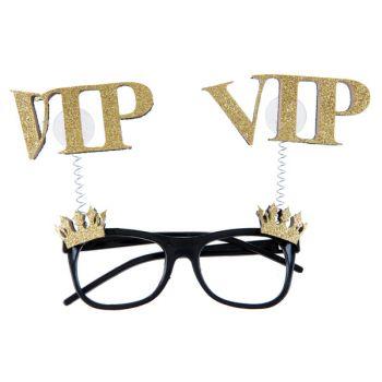 Lunette pailleté or VIP