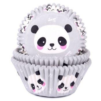 50 Caissettes cupcakes Panda