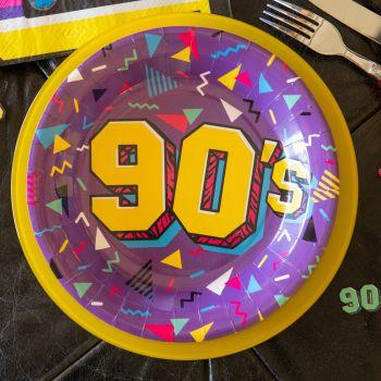 10 Assiettes 90's