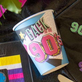 10 Gobelets carton 90's