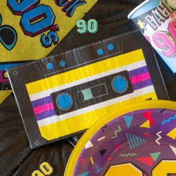 20 Serviettes en papier 90's