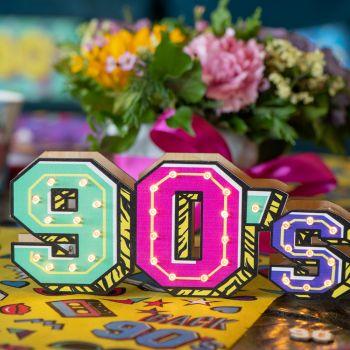 Décor à poser 90's