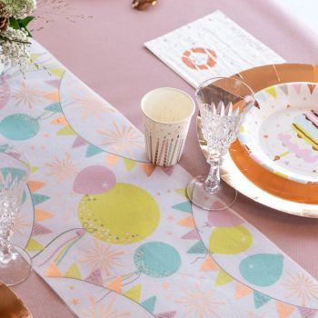 Chemin de table Joyeux Anniversaire 1 an