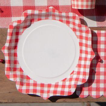 10 Assiettes A la campagne