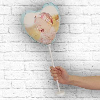 Ballon personnalisé cadre mint