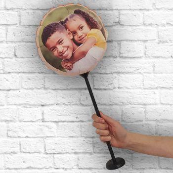 Ballon rond personnalisé cadre pêche Ø 28 cm