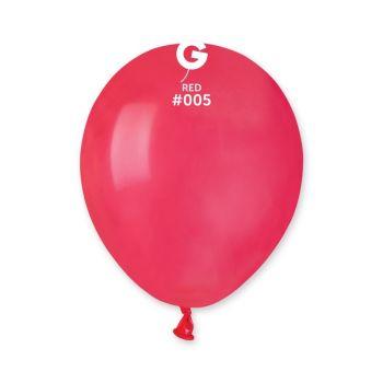 50 Ballons rouge Ø13cm