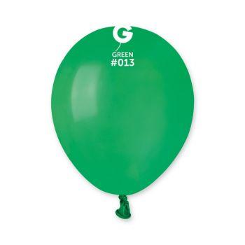 50 Ballons vert Ø13cm