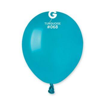 50 Ballons turquoise Ø13cm
