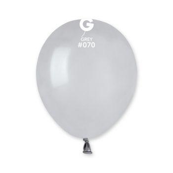 50 Ballons gris Ø13cm