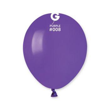 50 Ballons violet Ø13cm