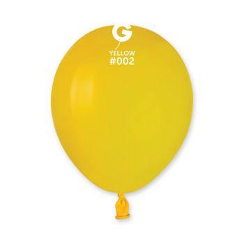 50 Ballons jaune Ø13cm