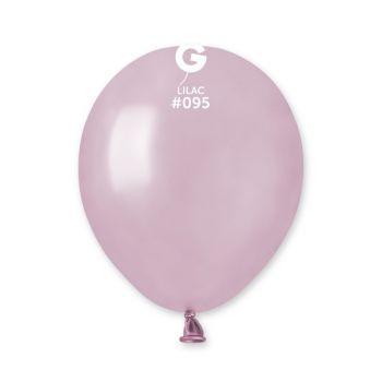 50 Ballons métallisés lilas Ø13cm
