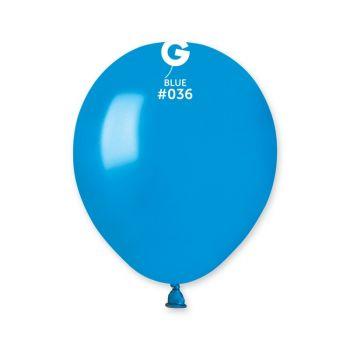 50 Ballons métallisés bleu Ø13cm