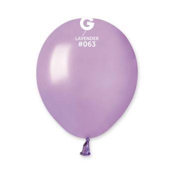 50 Ballons métallisés lavande Ø13cm
