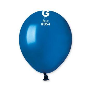 50 Ballons métallisés bleu roi Ø13cm