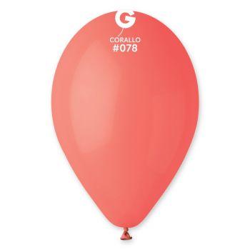50 Ballons corail Ø30cm