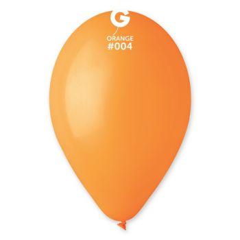 12 Ballons orange Ø30cm