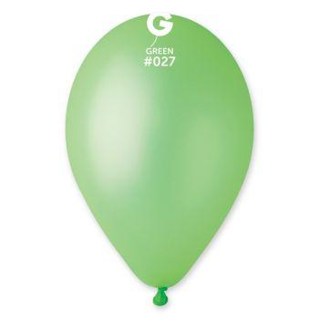 10 Ballons fluo vert Ø30cm
