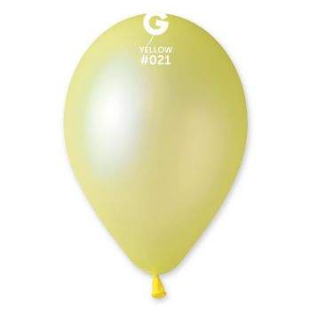 10 Ballons fluo jaune Ø30cm