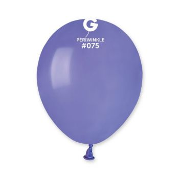 50 Ballons pervenche Ø13cm
