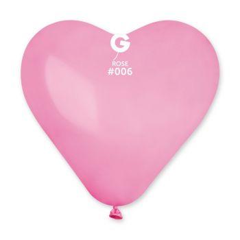 3 Ballons géant coeur rose 44cm