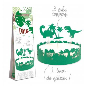 Kit déco de gâteau Dino Scrapcooking