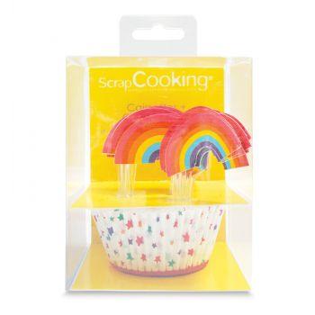 Kit 24 caissettes Rainbow Scrapcooking
