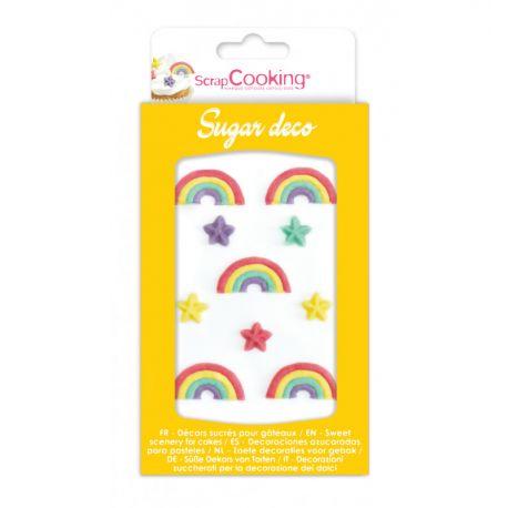 Boîte de 10 sucres décoratifs