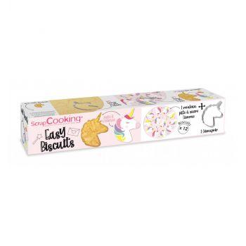 Easy biscuit Licorne Scrapcooking 150g