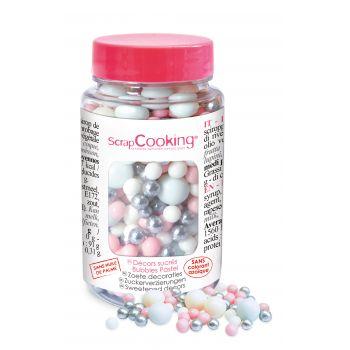 Bubbles en sucre pastel Scrapcooking 70g