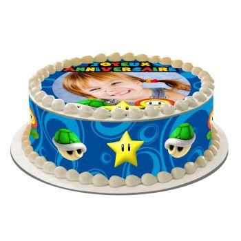 Kit Easycake pour gâteau personnalisé Mario Bross