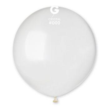 10 Ballons transparent Ø48cm