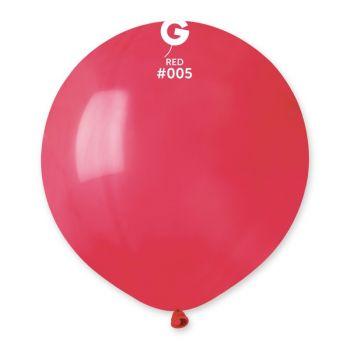 10 Ballons rouge Ø48cm