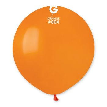 10 Ballons orange Ø48cm