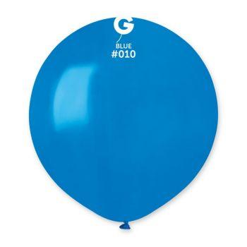 10 Ballons bleu Ø48cm