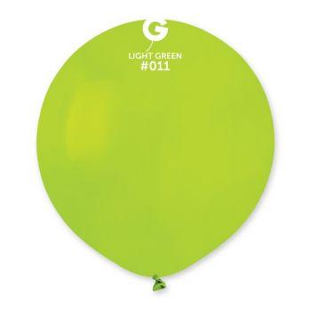 10 Ballons vert anis Ø48cm