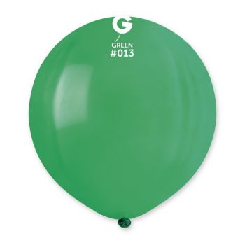 10 Ballons vert Ø48cm